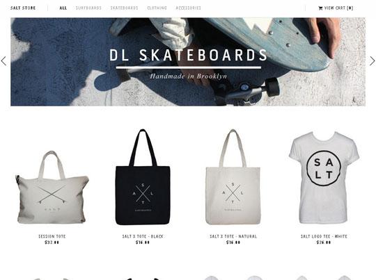 30个在线购物网站欣赏