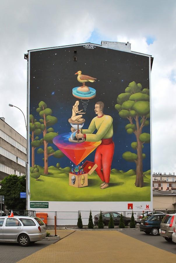 InteresniKazki创意街头绘画艺术