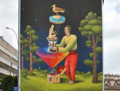 InteresniKazki创意街〗头绘画艺术