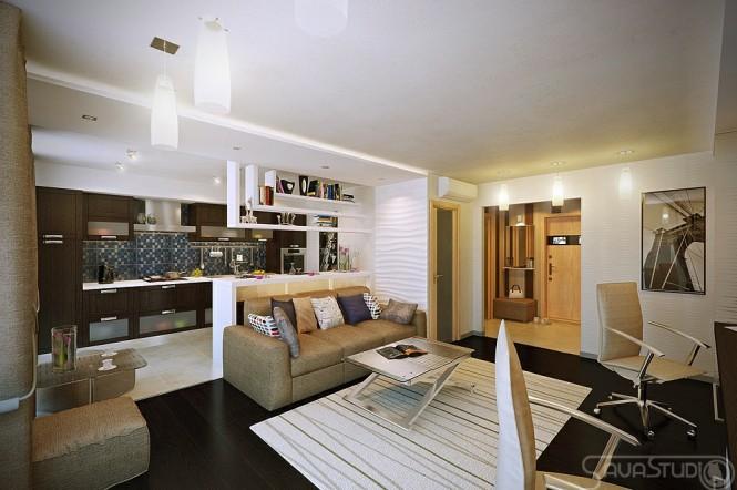 现代时尚的公寓设计