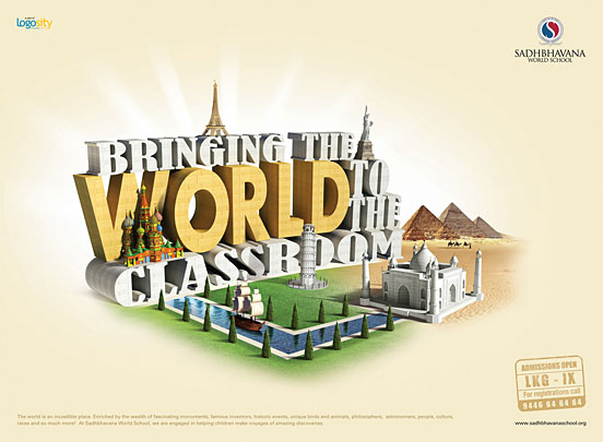 国外创意广告欣赏:漂亮的字体设计(上)(2) - 设计之家