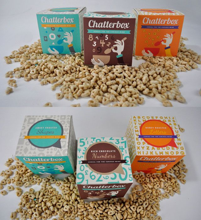 国外麦片和谷类食品包装设计