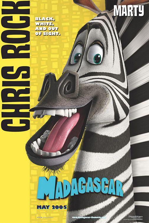 电影海报欣赏:马达加斯加(Madagascar)