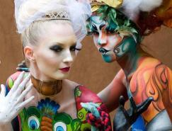 世界人体彩绘艺术节在奥地利举行