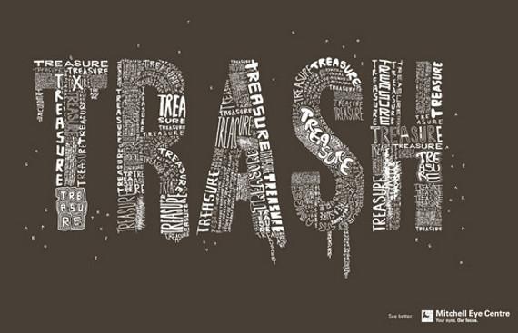 国外创意广告欣赏:漂亮的字体设计(中)