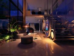 现代时尚的超酷客厅设计