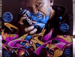 60个惊人的街头涂鸦艺术
