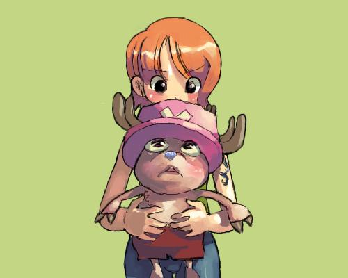 海贼王漫画人物插画:托尼托尼·乔巴(tonytonychopper)(4)