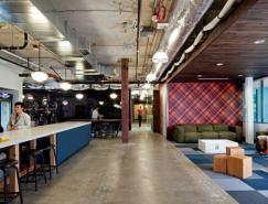 微软RedmondCampus4号Building开放式办公空间