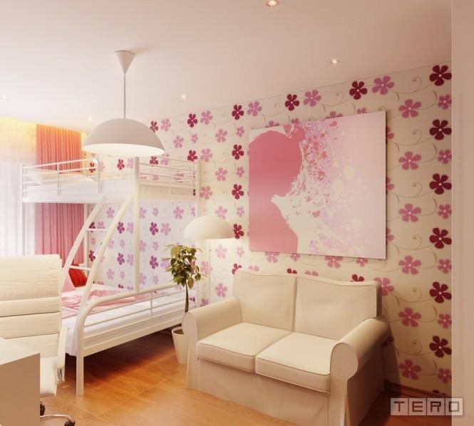 可爱的女孩房间设计(2)