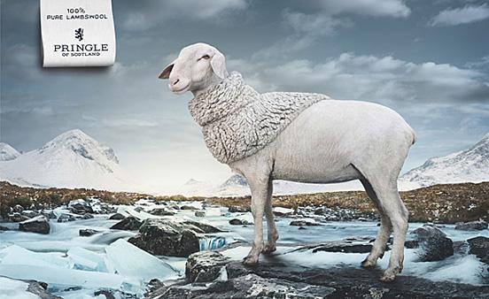 40个可爱动物元素的创意广告欣赏(2)