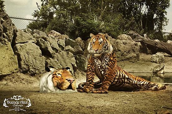 40个可爱动物元素的创意广告欣赏(4)