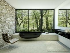 DanelonMeroni时尚前卫的浴室设计