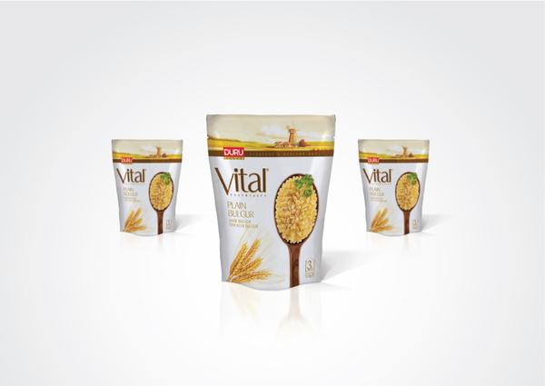 duru vital食品包裝設計