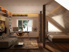 青少年卧室工作空间设计