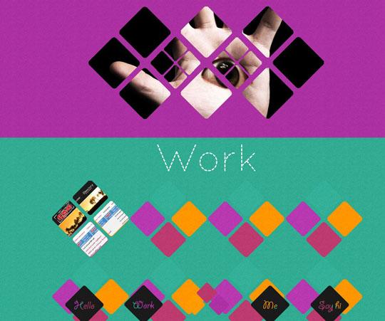 网站设计v菱形:漂亮的菱形简介(2)博建建筑设计有限公司元素图片