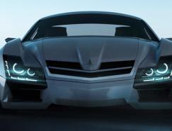 奔驰SF1概念车设计