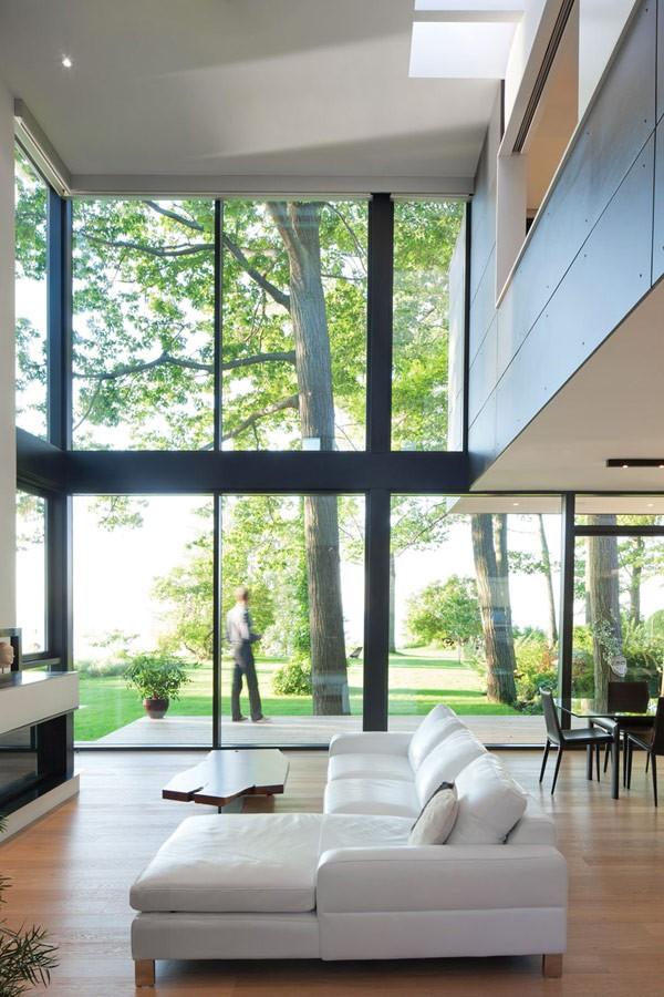 加拿大美丽湖景别墅设计