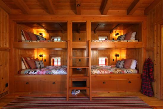 漂亮的双层床设计