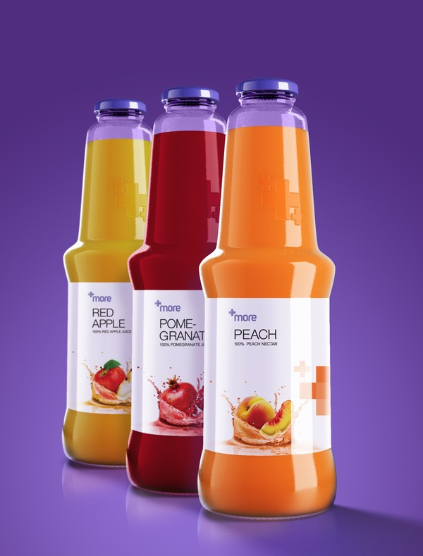 +more果汁包装设计