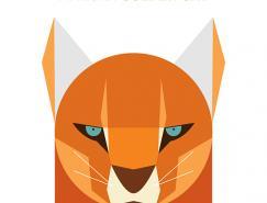 JagNagra简约的动物插画作品