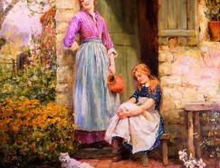英国印象派风景画家HenryJohnYeendKi
