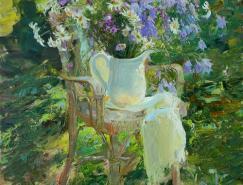 俄罗斯画家MariaSherbinina绘画作品欣赏