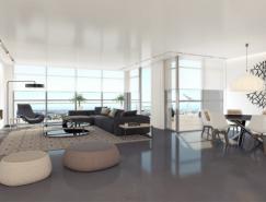 OAK项目公寓设计欣赏