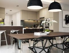 現代家居的美味餐廳設計欣賞