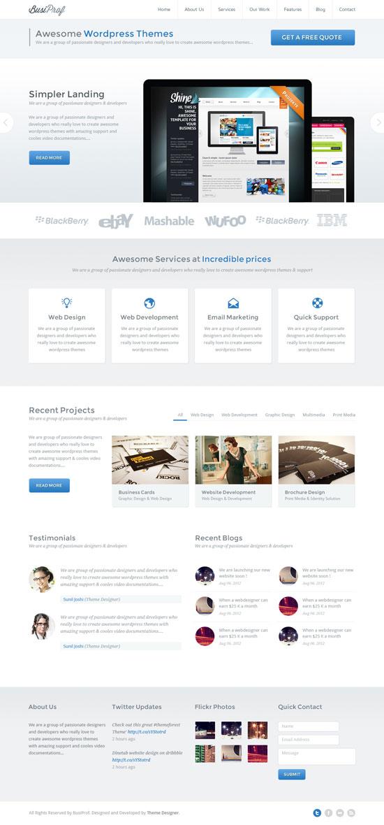 31款创意网页布局设计(2)
