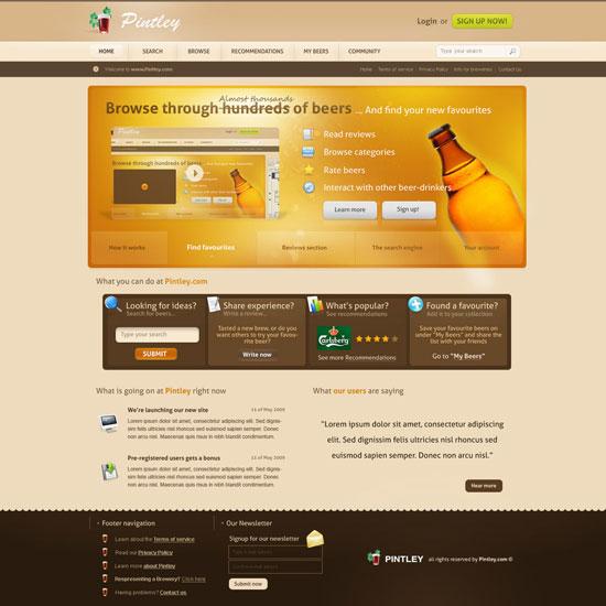31款创意网页布局设计(4)
