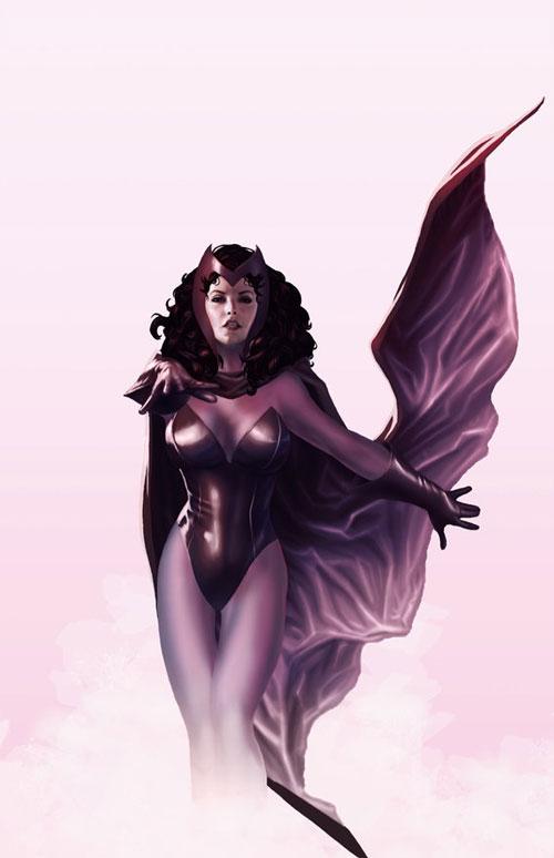 Marvel全集漫画:红人物(ScarletWitch)(2)的乡乐园幻想漫画女巫图片