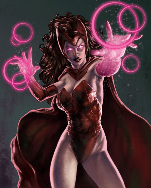 Marvel女巫漫画:红人物(ScarletWitch)(4)姐姐恶魔本子漫画图片图片