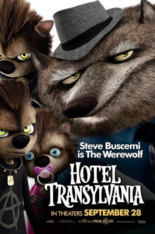 电影海报欣赏:精灵旅社(Hotel Transylvania)(2)