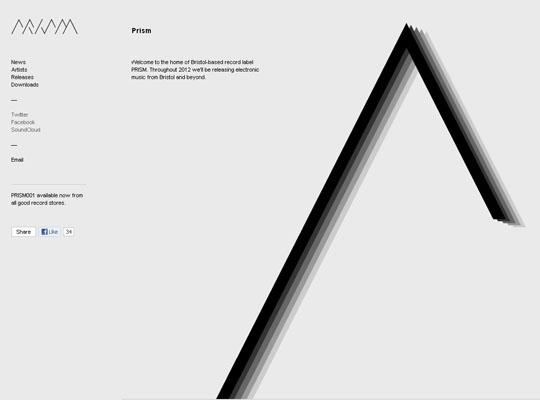 40个简洁灰色系网页设计欣赏