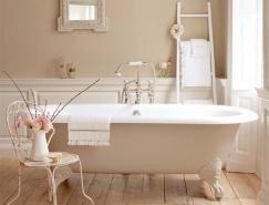 43个宁静放松的米色浴室设计