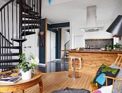 哥德堡51平米復式小公寓設計