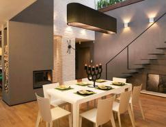 自然色彩调色板:保加利亚Bansko大气时尚Loft设计