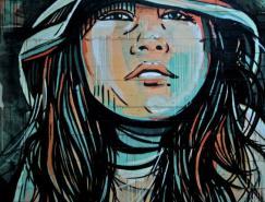 AlicePasquini街头艺术作品