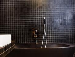 黑色系浴室设计欣赏