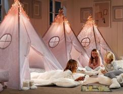 传统风格的国外小女孩房间设计