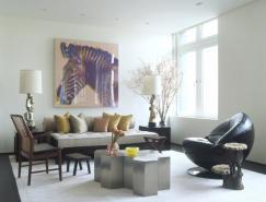 中国元素的纽约Laight公寓设计