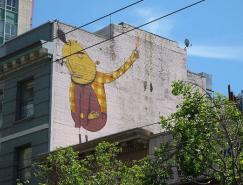 巴西街头艺术家OsGemeos作品欣赏