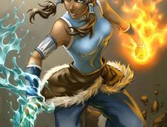 DrakeTsui游戏CG角色设计