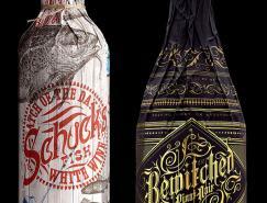 Stranger&Stranger复古风格的葡萄酒包装
