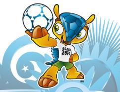 三色犰狳:FIFA官方揭晓巴西世