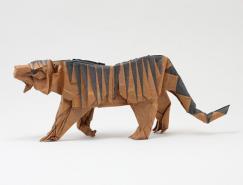 漂亮的折纸欣赏:动物