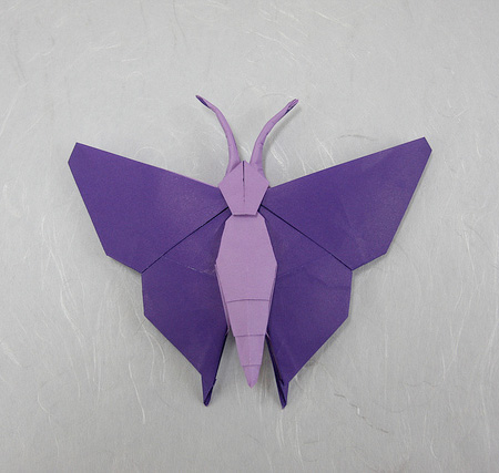 风筝折纸步骤图