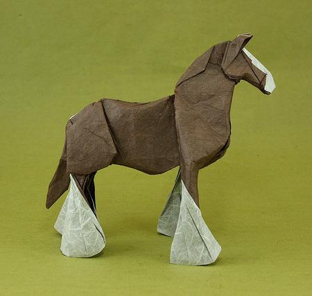 可爱的动物折纸集锦; 设计师:quentin