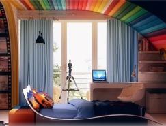 多姿多彩的儿童房w88手机官网平台首页